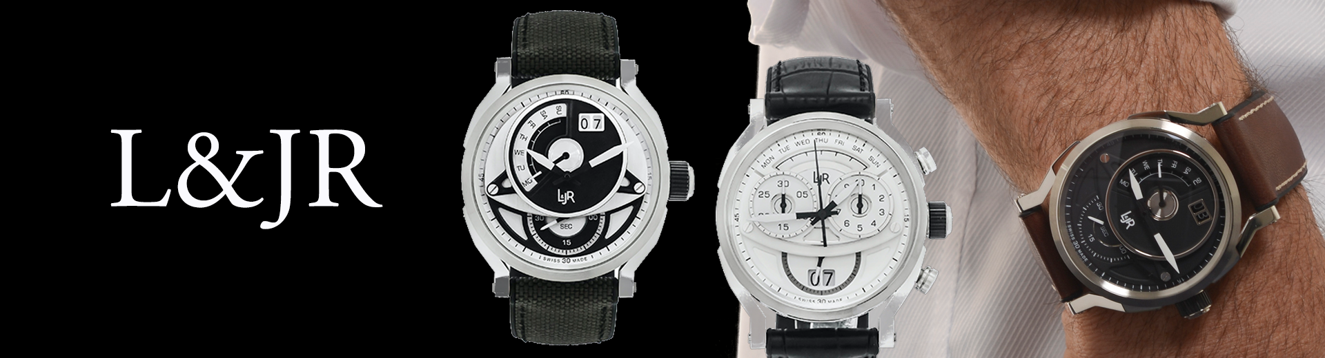L&JR Watches Combine Unconventional Style with Affordability to Stand Out from the Crowd