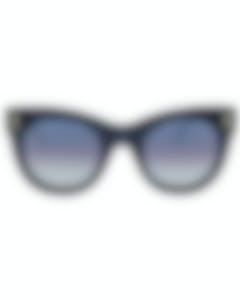 Boucheron Novelty Black Grey Women's Sunglasses BC0007S-30000059003