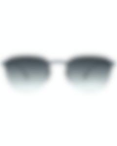 Burberry Gray Gradient Men's Metal Sunglasses BE3103-128911