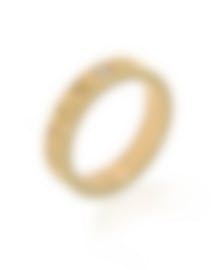 Image 1 of Bvlgari Bvlgari 18k Yellow Gold Diamond Ring AN854462 Size 7
