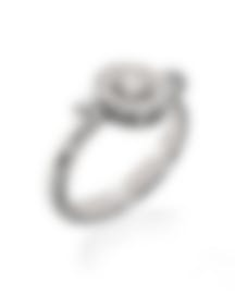 Image 1 of Bvlgari Bvlgari 18k White Gold Diamond Ring Size 6.5. AN856302
