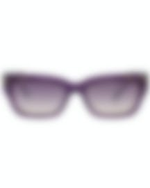Image 1 of Bvlgari Yellow Gradient And Violet Women's Acetate Sunglasses BV8219-545970