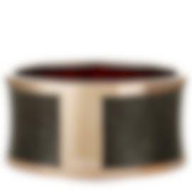Image 1 of Calvin Klein Spellbound Gold PVD Steel Imitation Python Bracelet KJ0DBD1901-0S