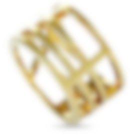 Image 1 of Calvin Klein Draw Yellow PVD Stainless Steel Ring KJ1TJR1001-05