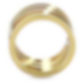 Image 2 of Calvin Klein Draw Yellow PVD Stainless Steel Ring KJ1TJR1001-05