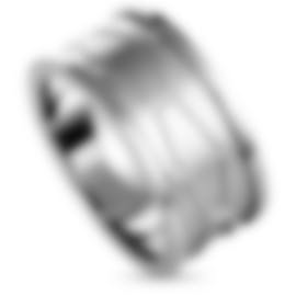 "Image 1 of Calvin Klein - ""Abstract"" Stainless Steel Ring KJ3BMR0001-10"