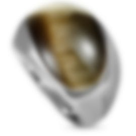"Image 1 of Calvin Klein ""Ellipse"" Stainless Steel Synthetic Stone Ring KJ3QCR0201-06"