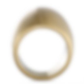 "Image 2 of Calvin Klein - ""Billow"" Yellow Gold PVD Stainless Steel Ring KJ93JR1101-06"