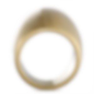 "Calvin Klein - ""Billow"" Yellow Gold PVD Stainless Steel Ring KJ93JR1101-06"