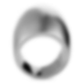 "Image 2 of Calvin Klein - ""Billow"" Stainless Steel Ring KJ93MR0101-06"