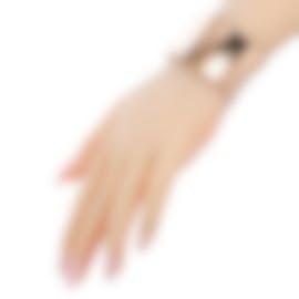Image 2 of Calvin Klein Dawn Rose Gold PVD Stainless Steel Bangle Bracelet KJ68CB0201-XS