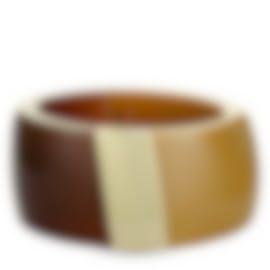 Image 1 of Calvin Klein Vision Gold-Plated Stainless Steel Bangle Bracelet KJ2RCD2901-0S