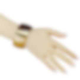 Image 2 of Calvin Klein Vision Gold-Plated Stainless Steel Bangle Bracelet KJ2RCD2901-0S