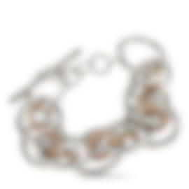 Image 1 of Calvin Klein Forward Pink PVD Stainless Steel Bracelet KJ1QPB2001-XS