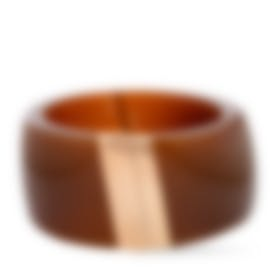 Image 1 of Calvin Klein Vision Stainless Steel And Gold PvD Bracelet KJ2RCD2902-XS