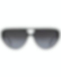 Image 1 of Chloe Men's Black And Smoke Gradient Aviator Sunglasses CE758S-001