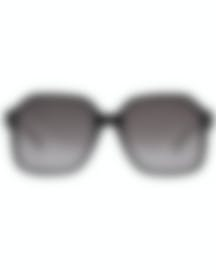 Image 1 of Chloe Women's Black And Grey Gradient Acetate Sunglasses CE761S-001