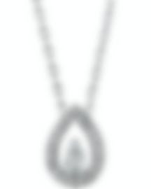 Image 1 of Fred Of Paris 18k White Gold Diamond 0.41ct Lovelight Necklace 3B0268-000