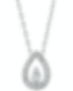 Fred Of Paris 18k White Gold Diamond 0.41ct Lovelight Necklace 3B0268-000