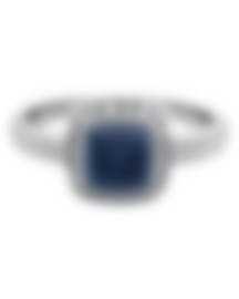 Image 1 of Fred Of Paris Gold Diamond 0.15ct Chalcedony Pain De Sucre Ring 4B0687