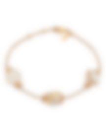 Image 1 of Fred Of Paris 18k Gold Diamond 0.46ct Pearl Baie Des Anges Bracelet 6B0246-000
