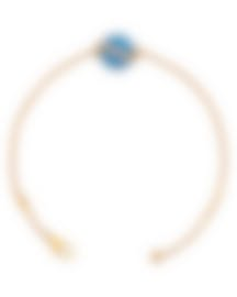 Image 2 of Fred Of Paris Gold Diamond 0.15ct Turquoise Baie Des Anges Bracelet 6B1004-000