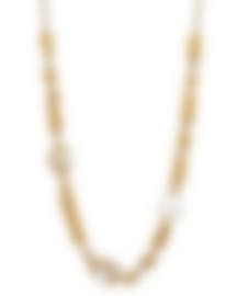 Image 2 of Fred Of Paris 18k Gold Diamond 1.88ct Pearl Baie De Anges Necklace 7J0258-000