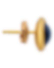 Image 2 of Fred Of Paris 18k Yellow Gold & London Blue Topaz Belles Rives Mono Earring 8B0272-000