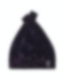 "Image 1 of HAYWARD ""Mini Shopper"" Berry Crushed Velvet Tote Bag - HL-06011A"
