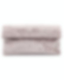 "Image 1 of HAYWARD ""East West Clutch"" Pale Pink Crushed Velvet Clutch - HLH-01042P81"