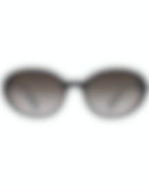 Image 1 of Miu Miu Black And Gray Women's Acetate Sunglasses MU01US-1AB3M1