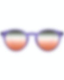 Image 1 of Ray-Ban Purple And Brown Unisex Acetate Sunglasses RB2180-6280A8