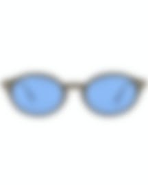 Image 1 of Ray-Ban Brown And Blue Unisex Acetate Sunglasses RB4315-638180