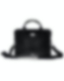 Image 1 of S.T. Dupont Atelier Men's Black Leather Briefcase And Document Holder 191441 MSRP $1755