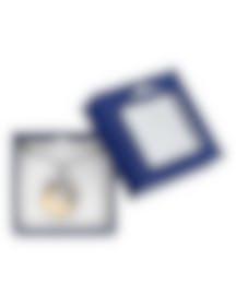 Image 2 of Swarovski Rhodium Plated Dragon Necklace 1141501