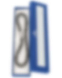 Image 2 of Swarovski Nylon And Rhodium Plated Crystal Bracelet 5136303
