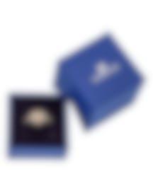 "Image 2 of Swarovski ""Greeting"" 18k Rose Gold-Plated Swarovski Crystal Ring Sz 7 5345512"