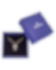 Image 2 of Swarovski Owl Gold-Plated Black Swarovski Crystal Necklace 5366714