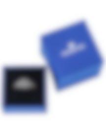 "Image 2 of Swarovski ""Stone"" 18k Rose Gold-Plated Swarovski Crystal Ring Sz 6.75 5406222"