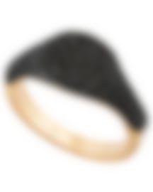 "Image 1 of Swarovski ""Stone"" 18k Rose Gold-Plated Swarovski Crystal Ring Sz 6.75 5406222"