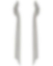 Image 1 of Swarovski Ruthenium Plated Crystal Earrings 5409450
