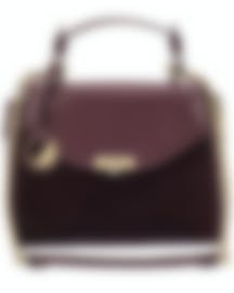 Image 1 of Versace Collection Bordeaux Light Gold Shoulder Bag - LBF0302-LCV1-L12OC