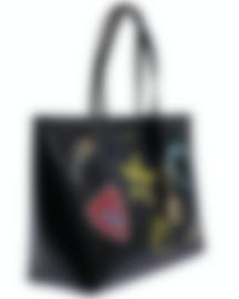 Image 2 of Versace Collection Black Saffiano Logo Tote - LBF0492S-LSSPS-LMNOC