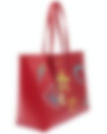 Image 2 of Versace Collection Red Saffiano Logo Tote - LBF0492S-LSSPS-LMROC
