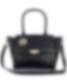 Image 1 of Versace Collection Black Saffiano Top Handle Satchel - LBF0999S-LVSS-L41OC