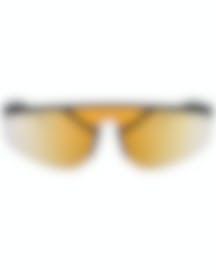 Image 1 of Versace Brown Orange Unisex Acetate Sunglasses VE4349-50795A