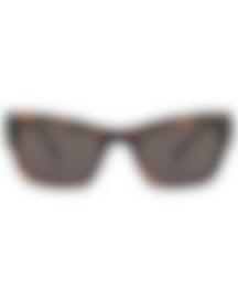 Image 1 of Versace Havana Brown Women's Acetate Sunglasses VE4358-521773