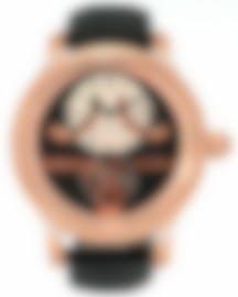 Image 1 of Jaquet Droz Tourbillon Retrograde Reserve De Marche 18k Rose Gold Manual Wind Men's Watch J028033201