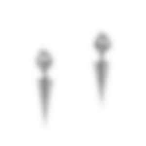 Lulu Frost Orbit Earrings - Antique Silver E110-3