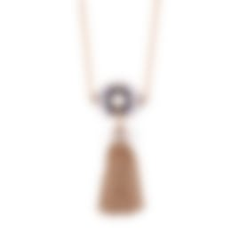 Image 1 of Lulu Frost Petra Long Tassel Necklace LFSS18-110